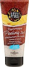 Düfte, Parfümerie und Kosmetik 2in1 Peeling und Körperlotion mit Ananas und Kokosnuss - Farmona Tutti Frutti Pineapple & Coconut