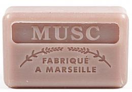Düfte, Parfümerie und Kosmetik Handgemachte Naturseife mit Moschusduft und Sheabutter - Foufour Savonnette Marseillaise Musc