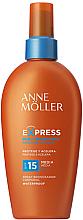 Düfte, Parfümerie und Kosmetik Sonnenschutzspray für schnelle Bräune SPF 15 - Anne Moller Express Sunscreen Body Spray SPF15