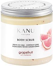 Düfte, Parfümerie und Kosmetik Peelingcreme für den Körper mit Grapefruit und Kranichbeeren - Kanu Nature Grapefruit With Cranberry Body Scrub