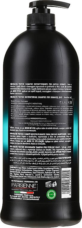 Restrukturierendes Shampoo mit Keratin - Black Professional Line Keratin Protein Shampoo — Bild N2