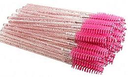 Düfte, Parfümerie und Kosmetik Einweg-Wimpern- und Augenbrauenbürsten transparent pink - Deni Carte