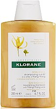 Düfte, Parfümerie und Kosmetik Pflegendes Shampoo mit Ylang-Ylang - Klorane Sun Radiance Nourishing Shampoo