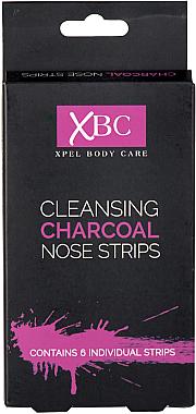 Nasenporenstreifen mit Aktivkohle - Xpel Marketing Ltd Body Care Cleansing Charcoal Nose Strips