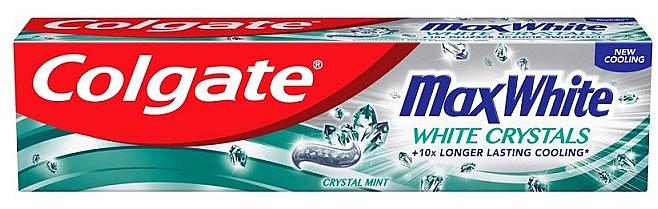 Aufhellende Zahnpasta - Colgate Max White White Crystals