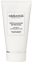 Düfte, Parfümerie und Kosmetik Tiefenreinigende Detox-Maske für normale und fettige Haut - Estelle & Thild BioTreat Deep Cleansing Detox Mask