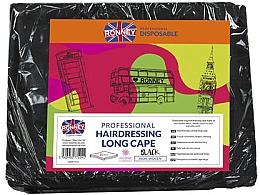 Düfte, Parfümerie und Kosmetik Friseurumhänge schwarz - Ronney Professional Hairdressing Long Cape