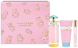Düfte, Parfümerie und Kosmetik Prada Candy Sugar Pop - Duftset (Eau de Parfum/80ml + Eau de Parfum/10ml + Körperlotion/75ml)