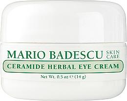Düfte, Parfümerie und Kosmetik Augencreme mit Ceramiden - Mario Badescu Ceramide Herbal Eye Cream