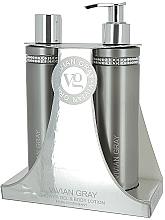 Düfte, Parfümerie und Kosmetik Körperpflegeset - Vivian Gray Grey Crystal (Duschgel 250ml + Körperlotion 250ml)