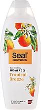 Düfte, Parfümerie und Kosmetik Feuchtigkeitsspendendes Duschgel mit Panthenol und Grapefruit Extrakt - Seal Cosmetics Tropical Breeze Shower Gel