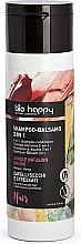 Düfte, Parfümerie und Kosmetik 2in1 Shampoo und Haarspülung mit Mango für trockenes und gestresstes Haar - Bio Happy Jungle Infusion Mango Conditioning Shampoo