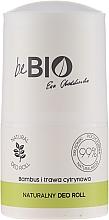 Düfte, Parfümerie und Kosmetik Natürliches Deo Roll-on mit Bambus und Zitronengras - BeBio Natural Lemon Grass & Bamboo Deodorant Roll-On