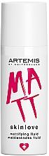 Düfte, Parfümerie und Kosmetik Mattierendes Fluid für fettige Haut und Mischhaut - Artemis of Switzerland Skinlove Mattifying Fluid