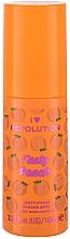Düfte, Parfümerie und Kosmetik Mattierendes Gesichtsprimer-Spray mit Pfirsichextrakt - I Heart Revolution Tasty Peach Mattifying Priming Spray