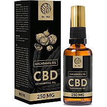 Düfte, Parfümerie und Kosmetik Natürliches Macadamiaöl CBD 250 mg - Dr. T&J Bio Oil