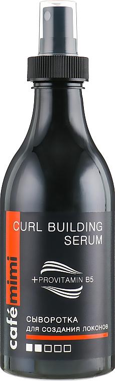 Lockendefinierendes Haarserum mit Provitamin B5 - Cafe Mimi Curl Building Serum