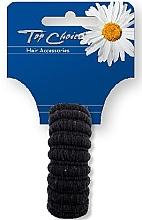 Düfte, Parfümerie und Kosmetik Haargummi schwarz 22814 - Top Choice