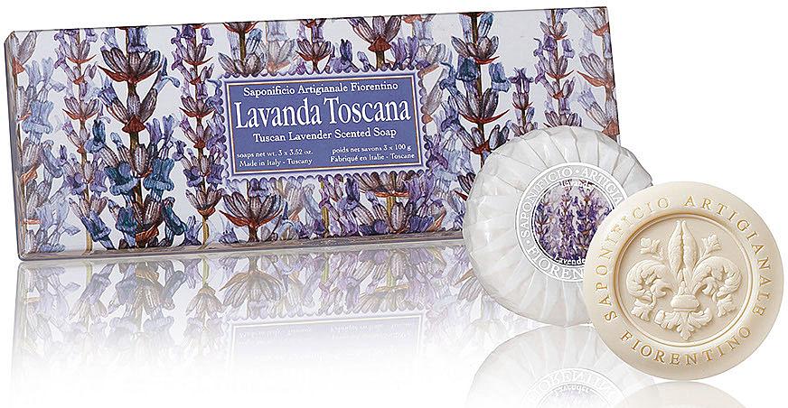 Naturseifen-Geschenkset - Saponificio Artigianale Fiorentino Lily SoapLavanda Toscana Collection
