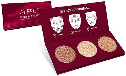 Konturpalette für das Gesicht - Affect Cosmetics Contour Palette