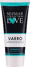 Düfte, Parfümerie und Kosmetik 2in1 Duschgel für Haare und Körper - Hrisnina Cosmetics Sezmar Collection Love Varro Aphrodisiac Hair & Body Shower Gel
