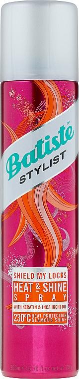 Haarspray mit Hitzenschutz - Batiste Stylist Heat&Shine Spray