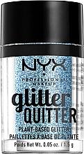 Düfte, Parfümerie und Kosmetik Glitter für Körper und Gesicht - NYX Professional Makeup Glitter Quitter Plant-Based Glitter