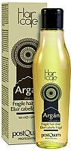 Düfte, Parfümerie und Kosmetik Haarlotion mit Arganöl für dünnes Haar - PostQuam Argan Fragile Hair Elixir