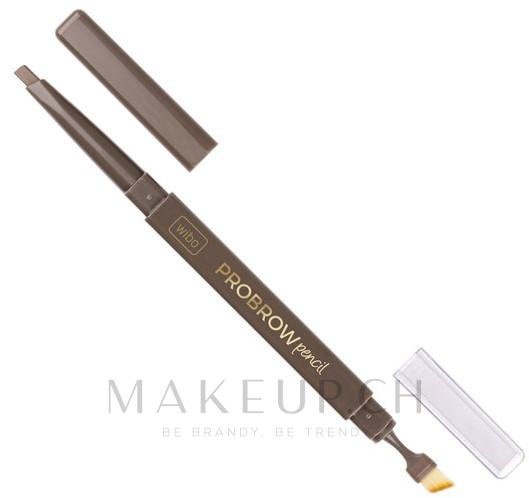 Augenbrauenstift mit Pinsel - Wibo Pro Brow Pencil — Bild 01