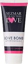 Düfte, Parfümerie und Kosmetik Intimpflege Duschgel - Hristina Cosmetics Sezmar Collection Love Aphrodisiac Shower Gel Love Bomb