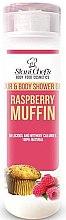 Düfte, Parfümerie und Kosmetik Körper-, Gesichts- und Haarduschgel mit Himbeer-Muffins-Aroma - Stani Chef's Hair And Body Shower Gel Raspberry Muffin