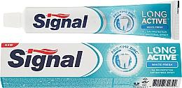 Düfte, Parfümerie und Kosmetik Zahncreme mit aufhellendem Effekt - Signal Long Active White Fresh Toothpaste