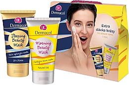 Düfte, Parfümerie und Kosmetik Gesichtspflegeset - Dermacol Beauty Mask Set (Gesichtsmaske für die Nacht 150ml + Gesichtsmaske für den Morgen 150ml)