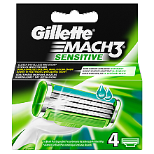 Düfte, Parfümerie und Kosmetik Gillette Fusion ProGlide Ersatzklingen - Gillette Mach3 Sensitive