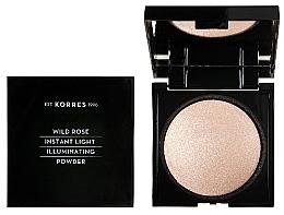 Düfte, Parfümerie und Kosmetik Puder-Highlighter mit Wildrosenöl - Korres Wild Rose Instant Light Illuminaring Power