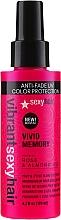 Düfte, Parfümerie und Kosmetik Styling-Föhnspray mit Rose und Mandelöl - SexyHair Vibrant Vivid Memory Blow Dry Spray