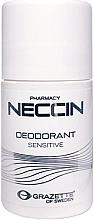 Düfte, Parfümerie und Kosmetik Deo Roll-on für empfindliche Haut - Grazette Neccin Deodorant Sensitive