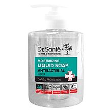 Düfte, Parfümerie und Kosmetik Feuchtigkeitsspendende antibakterielle Flüssigseife mit Aloe Vera - Dr. Sante Antibacterial Moisturizing Liquid Soap