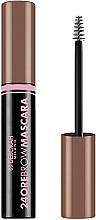 Düfte, Parfümerie und Kosmetik Langanhaltende Augenbrauenmascara - Deborah 24ore Brow Mascara
