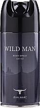Düfte, Parfümerie und Kosmetik Jean Marc Wild Man - Deospray