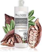 Düfte, Parfümerie und Kosmetik Aufweichendes Shampoo mit Kakaobutter und Harnstoff - E-Fiori