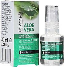 Düfte, Parfümerie und Kosmetik Anti-Spliss Seidenserum mit Aloe Vera-Extrakt - Dr. Sante Aloe Vera