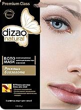 Düfte, Parfümerie und Kosmetik Maske für Gesicht, Hals und Augenlider mit Gold - Dizao