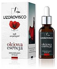Düfte, Parfümerie und Kosmetik Verjüngende Ölessenz für das Gesicht mit Mohnextrakt - Uzdrovisco