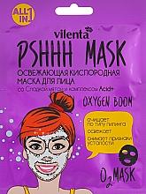 Düfte, Parfümerie und Kosmetik Erfrischende Sauerstoff-Gesichtsmaske mit süßer Minze und Acid+ - Vilenta Pshhh Mask