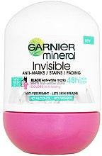 Düfte, Parfümerie und Kosmetik Deo Roll-on Antitranspirant - Garnier MineralInvisible Floral Fresh 48 Stunden Non Stop