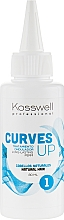 Düfte, Parfümerie und Kosmetik Dauerwelle-Lotion für natürliches Haar - Kosswell Professional Curves Up 1