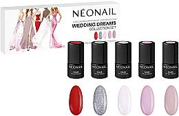 Düfte, Parfümerie und Kosmetik Gelnagellack-Set - NeoNail Professional Wedding Dreams Collection Set (Gelnagellack 5 x 3ml)