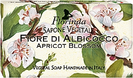 Düfte, Parfümerie und Kosmetik Handgemachte Naturseife Aprikosenblüte - Florinda Sapone Apricot Blossom Vegetal Soap Bar