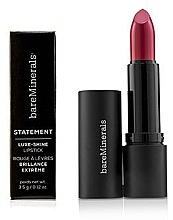 Düfte, Parfümerie und Kosmetik Lang anhaltender und glänzender Lippenstift - Bare Escentuals Bare Minerals Statement Luxe Shine Lipstick